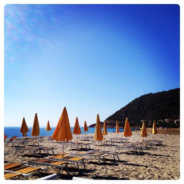 Perdepera Beach in Sardinia