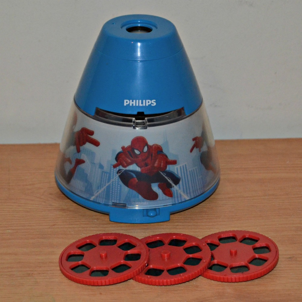 Marvel Spiderman Projector with 3 wheels
