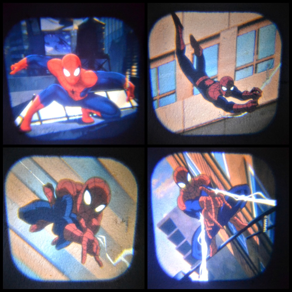 Spiderman Projector with 24 Images