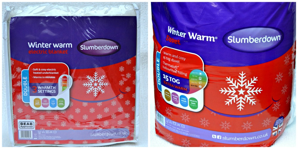 Slumberdown Winter Warm: Electric Blanket and Duvet
