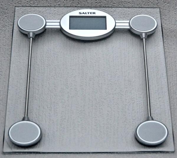 Salter Electronic Glass Platform Bathroom Scale