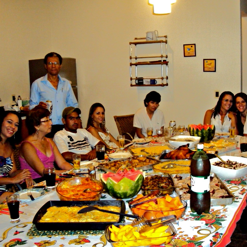 Christmas in Brazil: Family Feast on Christmas Eve