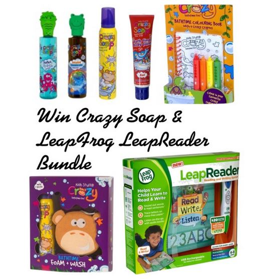 Win Crazy Soap LeapFrog Kids Bundle worth over £60