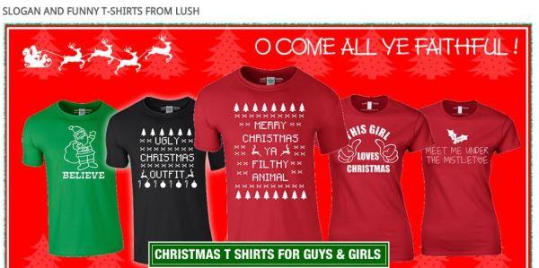 Day 12 - Lush T-shirts