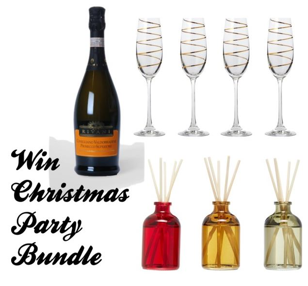 Day 4 - Win Christmas Party Bundle with Prosecco
