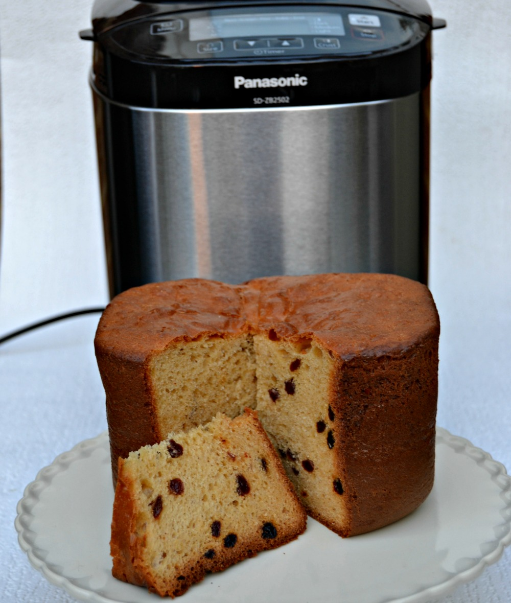 Making Homemade Panettone on Panasonic Breadmaker