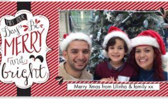 Snapfish Christmas Card