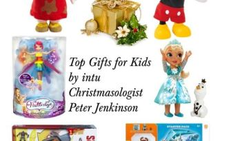 intu Christmasologist Top Gifts for Kids