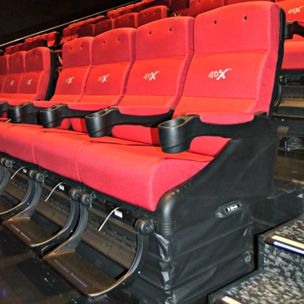 Cineworld 4DX Seats