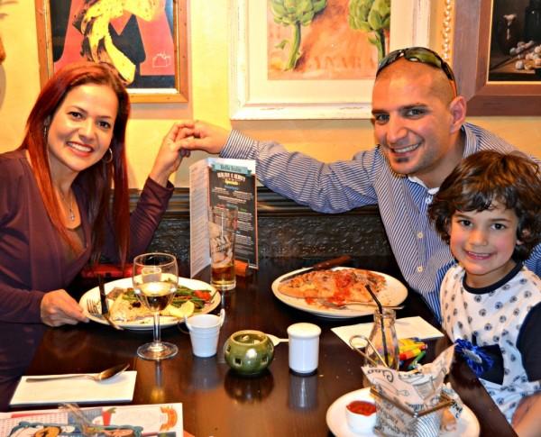 Family Meal At Bella Italia Lilinha Angels World Uk Food