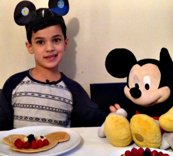 Mickey Mouse Breakfast 3