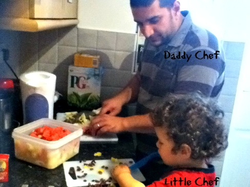 Daddy Chef and Little Chef 2