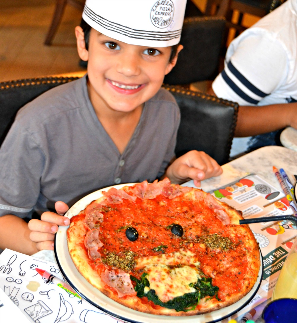 Pizza express ice age 8 lilinha angel 39 s world uk food for Age cuisine express