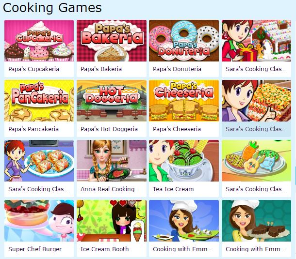 Online Food Games Cooking Games Photos