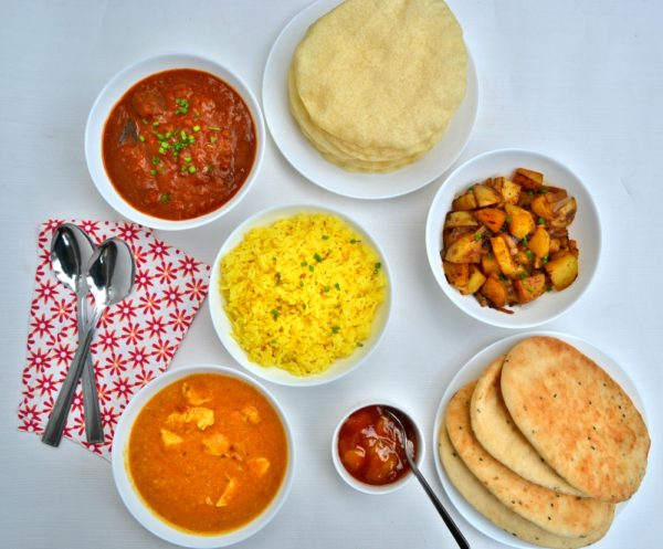 Frozen Indian Meals from Iceland