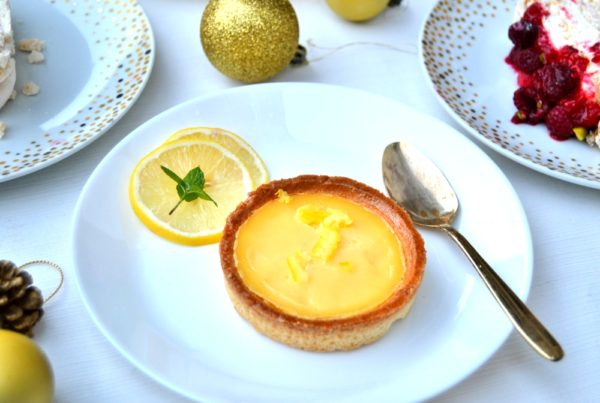 Luxury Sicilian Lemon Tartlets