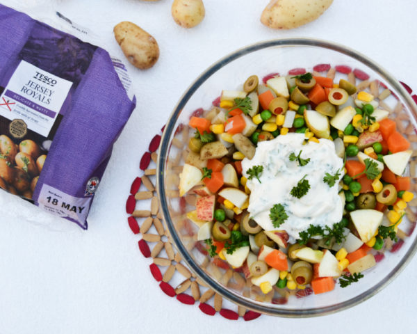 Brazilian-style Potato Salad